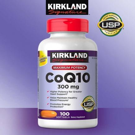 【美国直邮】柯克兰 Kirkland Signature CoQ10 300 mg., 100 So