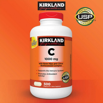 【美国直邮】柯克兰Kirkland Signature Vitamin C 1000 mg., 50